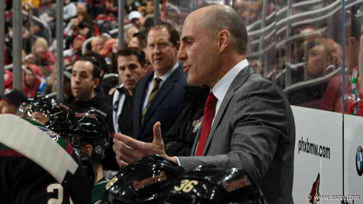 Rick Tocchet won't return as head coach of Arizona Coyotes after 4 seasons - ESPN