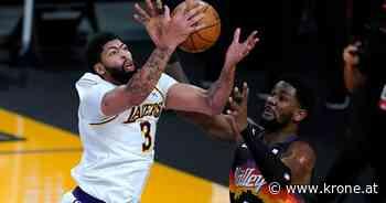 NBA - Lakers gewinnen auch ohne LeBron James gegen Suns - Krone.at