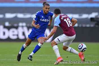 Football: West Ham's top-four hopes dented by loss to Everton - The Straits Times
