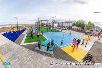Inauguraron el playón de pasaje Luján en la zona del Perón - Actualidad TDF