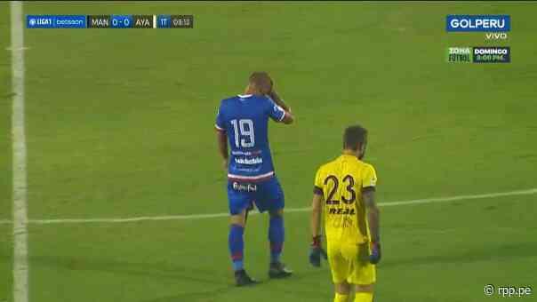 ¡Al minuto 8! Mauro Guevgeozián fue expulsado ante Ayacucho FC - RPP Noticias