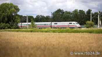 ICE in Richtung Berlin bei Wustermark (Havelland) liegengeblieben - 200 Passagiere evakuiert - rbb24