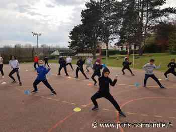 Covid-19. Les karatékas de Louviers poursuivent leur entraînement à l'extérieur - Paris-Normandie