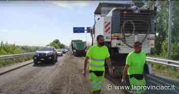 Tangenziale di Crema, code e disagi per i lavori di asfaltatura - La Provincia