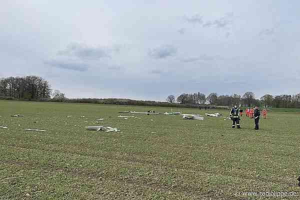 Horn-Bad Meinberg: Pilot bei Segelflugzeug-Absturz gestorben - Radio Lippe