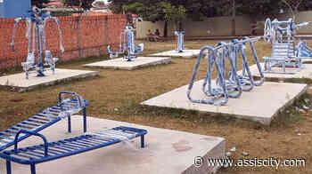 Cinco academias ao ar livre são instaladas em Assis Essa é uma opção aos moradores de - Assiscity