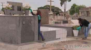 Prefeitura faz limpeza e abre Cemitério de Assis para visitação no Dia das Mães - G1