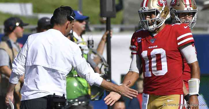 Report: 49ers' decision to draft Lance moved Garoppolo further off trade market