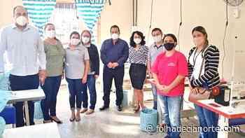 Iniciado o curso de Costura Industrial em Tapejara - Folha De Cianorte