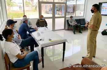 Trabajan en la protección de bienes de uso público en Coveñas - EL HERALDO