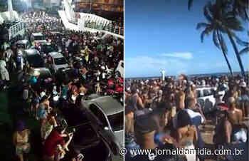 Chegar à Ilha de Itaparica hoje só de lancha ou...mais de 250 Km de estrada. Ferry-boat segue suspenso. - Jornal da Mídia
