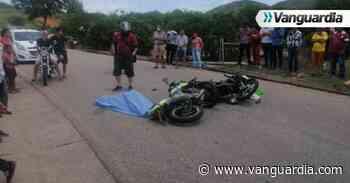 Motociclista murió en accidente en la vía a Zapatoca - Vanguardia