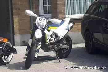 Motorfiets op klaarlichte dag gestolen aan voordeur - Het Nieuwsblad