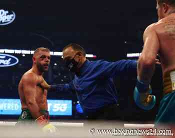 Saunders' trainer: His eye socket was caved in, he couldn't see