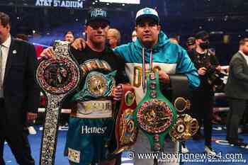 Canelo is the big boss again