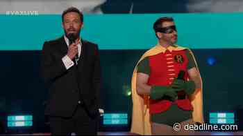 Jimmy Kimmel And Ben Affleck Suit Up For 'Vax Live' — Watch - Deadline