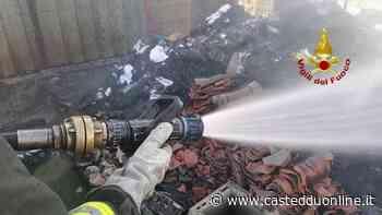 Sestu, incendio all'esterno di un casolare in campagna: fiamme domate dai vigili - Casteddu Online