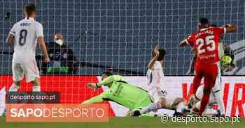 Ex-FC Porto marca mas Real evita derrota aos 94 frente ao Sevilha. Merengues falham liderança da La Liga - SAPO Desporto