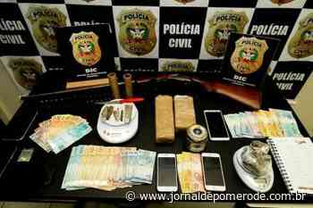 """Operação """"Enxurrada"""" prende seis pessoas ligadas ao tráfico de drogas - Jornal de Pomerode"""