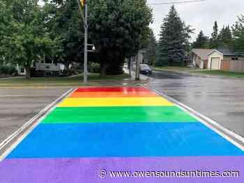 Rainbow crosswalk planned for Owen Sound - Owen Sound Sun Times