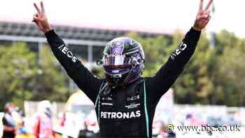 Lewis Hamilton wins Spanish Grand Prix after late overtake of Max Verstappen