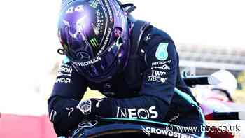 Lewis Hamilton takes 100th career pole at Spanish Grand Prix