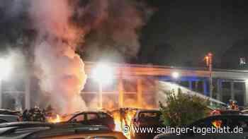 Polizei ist jetzt sicher: Brandstiftung am Autohaus