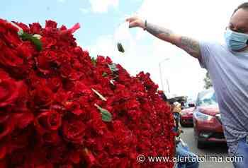 En el Día de la Madre, vendedores de rosas triplicaron sus ventas - Alerta Tolima