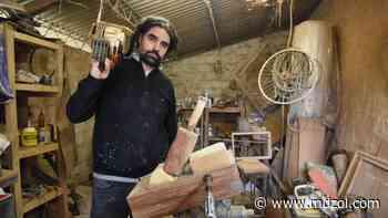 """El artista Fernando Rosas abre las puertas de su taller: """"Creo seres para que otros los interpreten"""" - MDZ Online"""