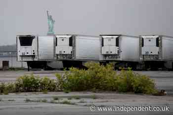 Bodies of hundreds killed by Covid still being stored in trucks in New York