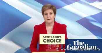 Scotland independence referendum is 'will of the people', says Nicola Sturgeon – video - The Guardian