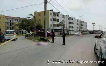Quincuagenario pierde la vida al transitar en su motoneta por Arboledas Altamira - El Sol de Tampico