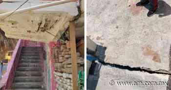 León: Denuncian edificios a punto de colapsar en Las Arboledas (FOTOS) - Periódico AM