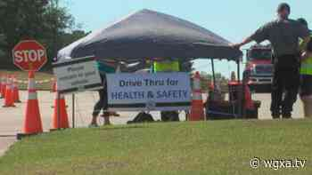 Fairview Park Hospital holds drive thru giveaway for Trauma Awareness Month - wgxa.tv