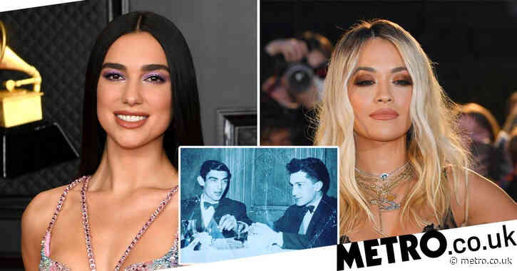 Photo of Dua Lipa and Rita Ora's granddads having a drink together in the 1960s is blowing fans' minds