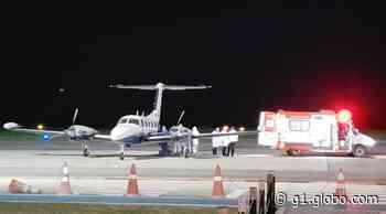 Paciente com Covid é transferido de Noronha para Recife no segundo voo noturno após obra em aeroporto - G1