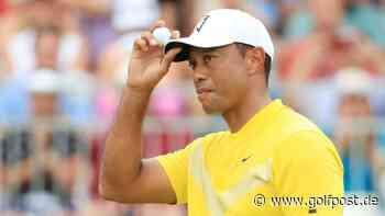 Tiger Woods veröffentlicht erstes Foto seit seinem Autounfall - Golf Post