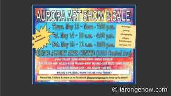 Aurora Art Show and Sale This Week - larongeNOW