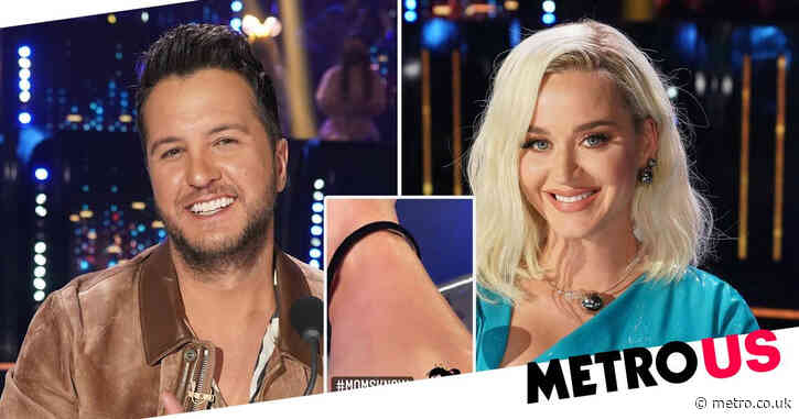 American Idol: Katy Perry has perfect reaction after Luke Bryan tells her to 'do something' about unshaved leg hair