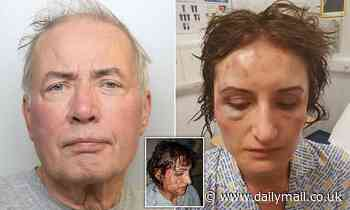 Businessman, 71, gets seven-year sentence after he attacked his ex-wife with a hammer