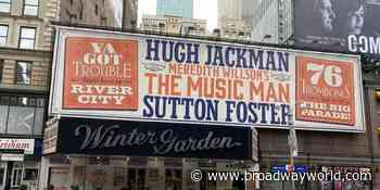 PHOTO: Hugh Jackman and Sutton Foster in Rehearsal For THE MUSIC MAN - Broadway World