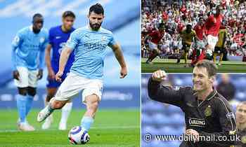 Sergio Aguero's Panenka extended Premier League title race - Chris Sutton and Peter Crouch have say - Daily Mail