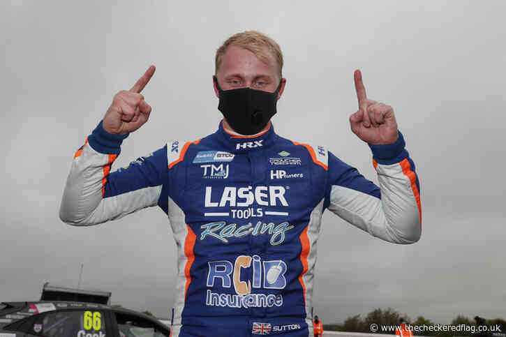 Defending champion Sutton victorious in lively Race Three at Thruxton - The Checkered Flag
