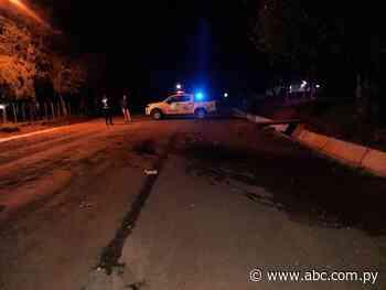 Fallece segunda víctima de choque entre motociclistas en Quiindy - Nacionales - ABC Color