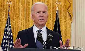 Joe Biden says anyone unemployed who is offered 'suitable job' must take it or lose benefits