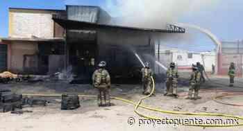Se incendia bodega del marcado Olímpico en colonia Luis Encinas en Hermosillo - Proyecto Puente