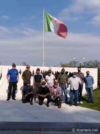 Alpini di Alba e Bra fanno pulizia al Memoriale della Cuneense - https://ilcorriere.net/