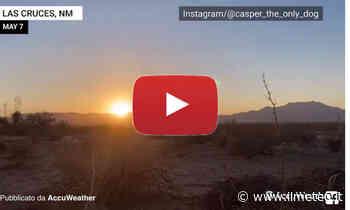 Meteo Cronaca DIRETTA: NUOVO MEXICO, spettacolare ALBA ripresa sulle MONTAGNE. Il VIDEO - iLMeteo.it