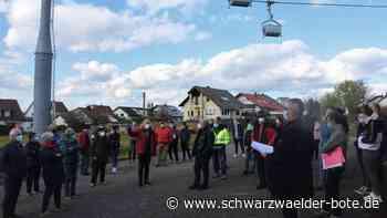 Holcim in Dotternhausen - Klappern, Brummen und Dröhnen der Seilbahn ist Bürgern zu laut - Schwarzwälder Bote