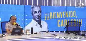 Carles Francino regresa a la radio tras estar ingresado por coronavirus: «Sufrí un ictus y perdí 7 kilos y hasta la voz» - El Correo